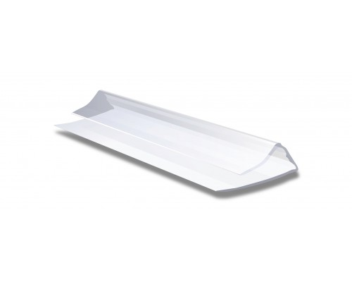 Профиль торцевой П-образный для поликарбоната 4 мм 2,1 м
